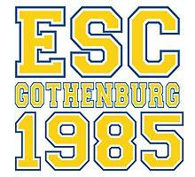 ESC Gothenburg 1985 [Eurovision] Photographic Print