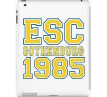 ESC Gothenburg 1985 [Eurovision] iPad Case/Skin