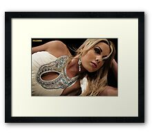 Miss Idaho Framed Print