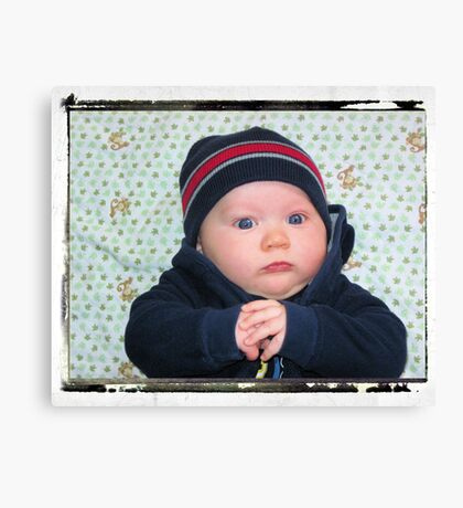 Don't Mess With Me!!! My Hat is Too Cool!! Canvas Print