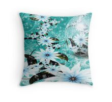 Royal Garden Sphere: FROST Throw Pillow