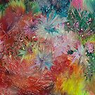 Crystalline Painting by Don Wright