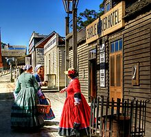Stepping Back in Time at Sovereign HIll by Christine Smith