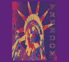 FREEDOM TEE-2 by DarrellMoseley