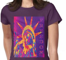 FREEDOM TEE-2 Womens Fitted T-Shirt
