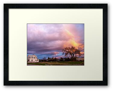 Kalispell Sunset - South by rocamiadesign
