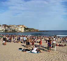 Summer Day at Bondi Beach by Christopher Meder Photography