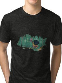 Death to Barney Tri-blend T-Shirt