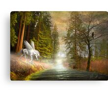 Appearing to Drink Canvas Print
