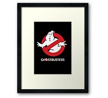 Ghostbusters Framed Print