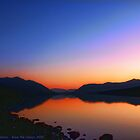 Lake MacDonald Sunset by rocamiadesign