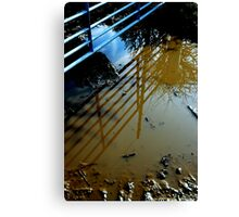 """MUDDY WATERS REFLECTS THE BLUES"" Canvas Print"