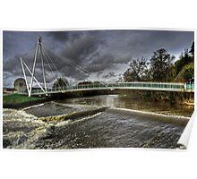 Bridge over the Exe Poster