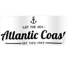 Atlantic Coast Poster