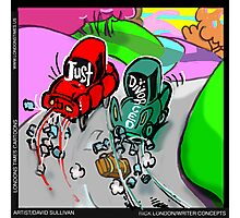 Just Divorced by Londons Times Cartoons Photographic Print
