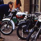 classic bike show,sleaford by JohnHDodds