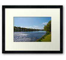 The River Ness: Inverness, Scotland Framed Print