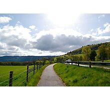 Pathway to Urquhart Castle Photographic Print