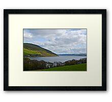 Overlooking Loch Ness Framed Print