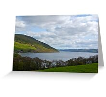 Overlooking Loch Ness Greeting Card