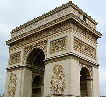 Arc de Triomphe: Paris, France by ScottishVet