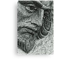 Stone Face  Canvas Print
