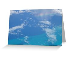 Caribbean Rainbow Greeting Card