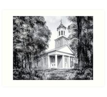 Saint Paul's Episcopal Church - Historic Augusta Georgia Art Print