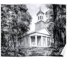 Saint Paul's Episcopal Church - Historic Augusta Georgia Poster