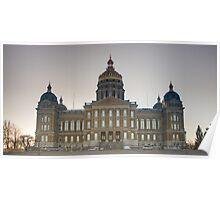 Capitol Building - Des Moines Poster