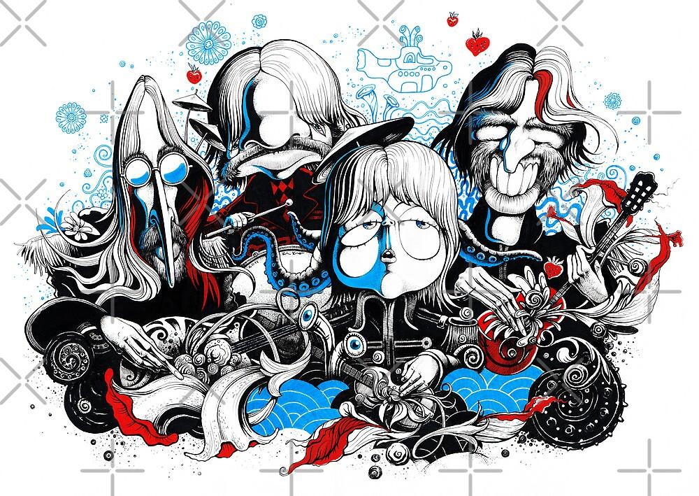 The Beatles by kiko