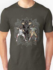 ¡Los Empiradores! - Vader Muerto, EstormoFederalé y El Boba Unisex T-Shirt