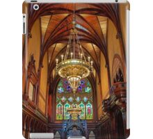 USA. Massachusetts. Cambridge. Harvard University. Memorial Hall. Interior. iPad Case/Skin
