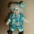 Puppet in blue suit by Ana Belaj
