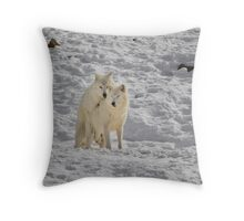 Doggy style... Throw Pillow