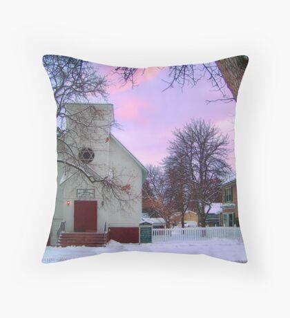 Old Time Religion Throw Pillow