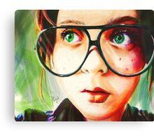 Alice's Glasses Canvas Print