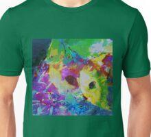 Cat communing with nature Unisex T-Shirt