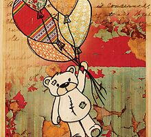 patch bear 2 by Narelle Craven