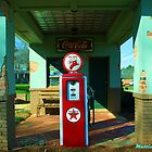 Old Gas Station by Mattie Bryant
