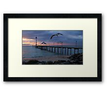 Brighton Jetty Framed Print
