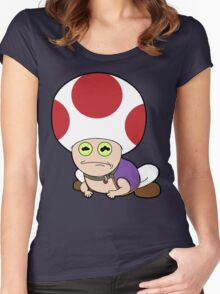 All Glory to Hypno Toad Women's Fitted Scoop T-Shirt