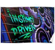 Instinct Driven Poster