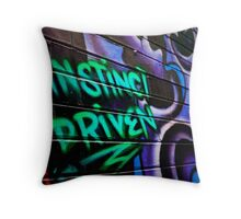Instinct Driven Throw Pillow