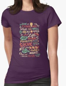 Solving Problems, Making Things Womens Fitted T-Shirt