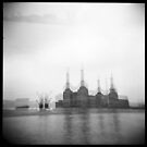 battersea power station  by Michal Bladek