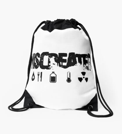 Miscreated Design 2 White (Official) Drawstring Bag