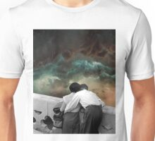 Watching the storms roll in Unisex T-Shirt
