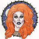 Sharon Needles by marksatchwillart