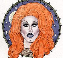 Sharon Needles by marksatchwillart